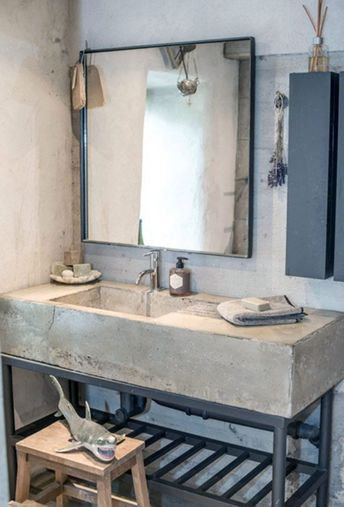 15 Stunning Industrial Bathroom Ideas For Inspiration