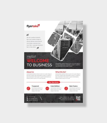 Alastor Stylish Corporate Flyer Template - Graphic Templates
