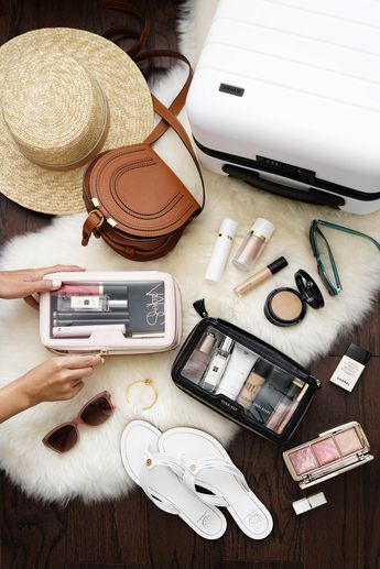 The Daily Edited Transparent Cosmetic Case vs. Anya Hindmarch Inflight Cosmetic Case