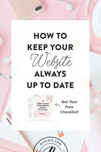 How To Keep Your Website Always Up To Date