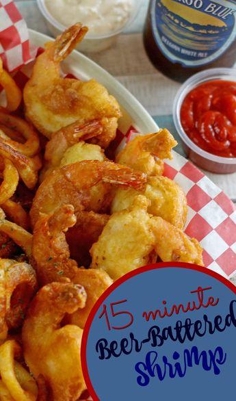 15-minute Beer Battered Shrimp