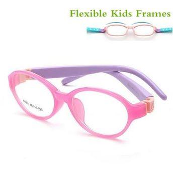 fc9b534d71 Detachable Rubber Leg Kid Glasses Eyeglasses Kids Frames Optical Eyewear  for Children No Screw Safe TR