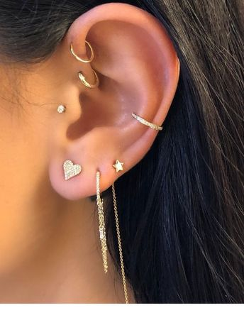 Beautiful earrings collection
