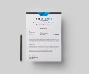 Prague Professional Resume Design Template - Graphic Templates