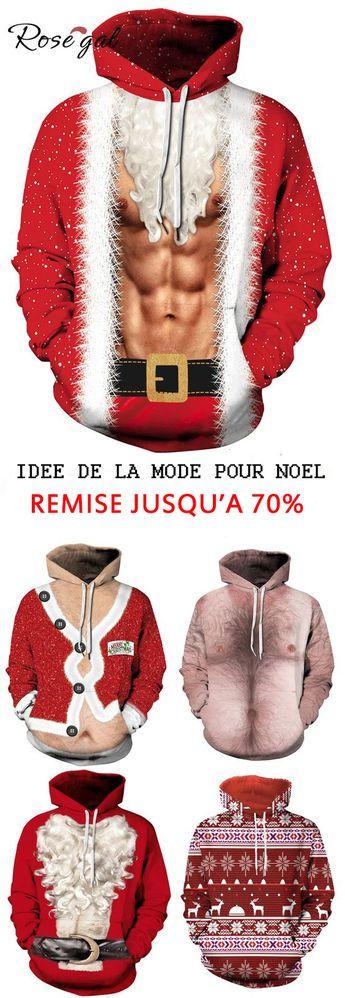 Livraison gratuite dès €40, jusqu'à 70% remise Rosegal Sweats à capuche pour hommes tenues de vacances idées de Noël la mode d'hiver #Rosegal #homme #mode #Noël