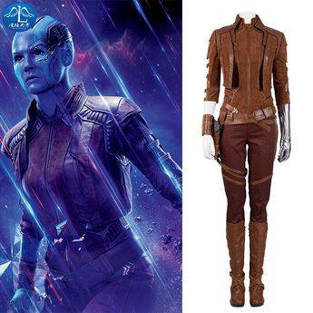 (Sponsored)eBay - Avengers Endgame Nebula Cosplay Costume Guardians of The Galaxy Outfit Customize