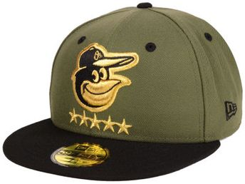 reputable site c9494 ee3eb ireland baltimore orioles new era mlb 5 star 59fifty cap 54221 7e151