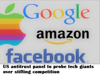 US antitrust panel to probe tech giants over stifling competition