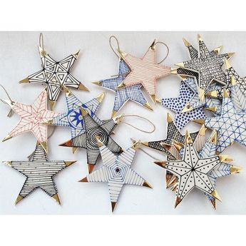 "Suzanne Sullivan on Instagram: ""Make a wish! #starlight #porcelain #ornaments #holidays @loveadorned"""
