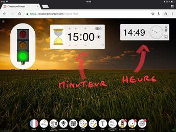 Classroomscreen : un outil précieux pour la classe | Un Prof d z'écoles