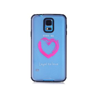 Coque transparente Loyal to love Samsung Galaxy S5