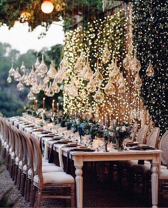 """BHLDN Weddings auf Instagram: """"💫Dining under the stars💫 #regram: @weddingchicks"""""""