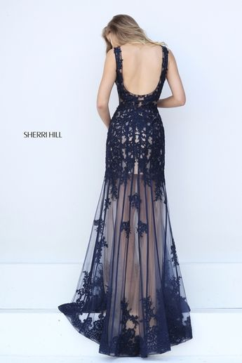 a4647268a5d Exquisitely beaded sheer lace flows sensually over a nude