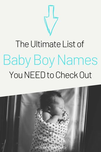600+ UNCOMMON TRENDY & STRONG BABY BOY NAMES 2019