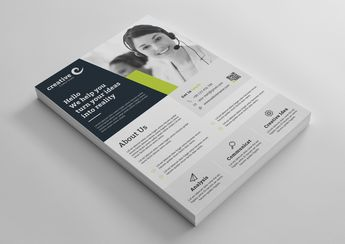 Liverpool Modern Business Corporate Flyer Template - Graphic Templates