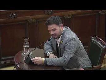 Juez Marchena corta el MITÍN político de Gabriel Rufián - JUICIO PROCÉS