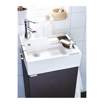IKEA LILLANGEN White Sink cabinet with 1 door