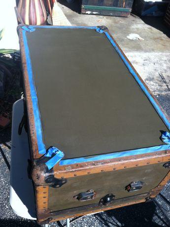 Vintage Steamer trunk Repair/Repaint