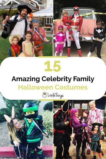 Best Celebrity Family Halloween Costumes
