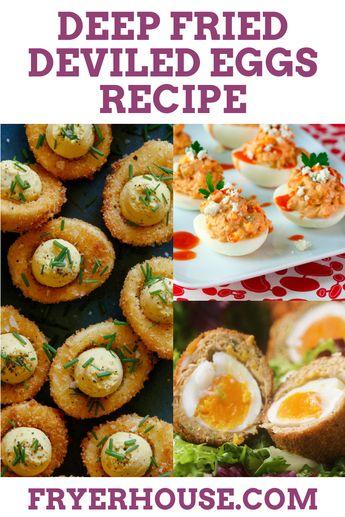 Easy Deep Fried Deviled Eggs Recipe