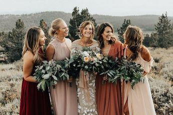 Adventurous Mount Rose Trail Wedding with a Dose of Boho Details