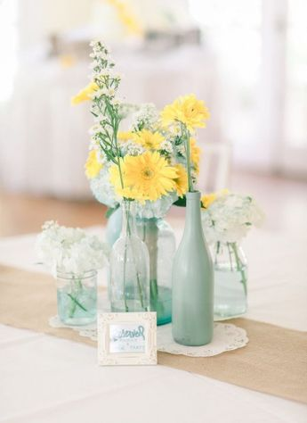 Simply Elegant White Milk Glass Vases With Brightly Colore