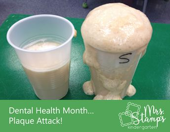 Dental Health Month... Plaque Attack Experiment!