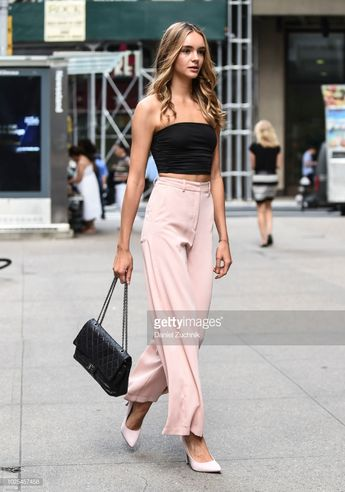 4b4c338ad8 Paulina Frankowska attends the casting for the 2018 Victoria s Secret  Fashion Show in Midtown on August