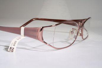1c9ca1ba635 FENDI Women s Rose Gold Pink Semi Rimless Wide Temples Optical Eyeglasses  Frames Glasses + Case