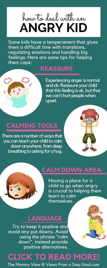 How to Deal with an Angry Kid in a Gentle Way