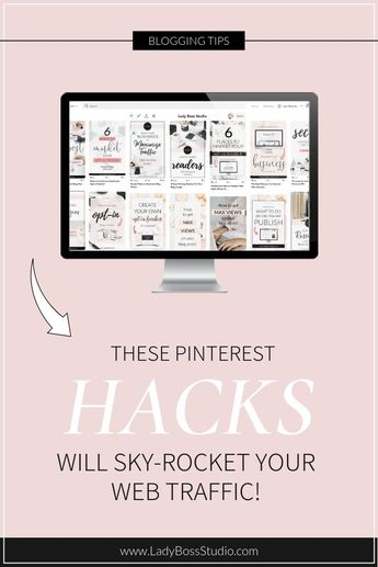 Pinterest SEO Tips to Maximize Traffic to Your Website! | Lady Boss Studio