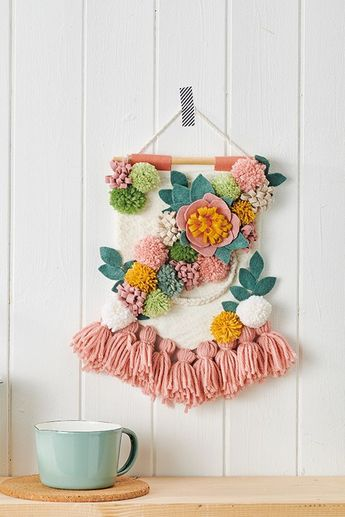 Celebrate the new season with the prettiest floral display. Find the tutorial in Mollie Makes 90.