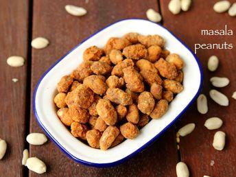 Peanut masala recipe | masala groundnut | besan masala peanuts