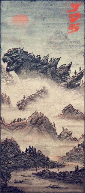 Blurppy – Poster Posse Project 7 – Godzilla