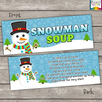 photo relating to Snowman Soup Free Printable Bag Toppers referred to as Reindeer Foods - Handle Bag Topper - Electronic Report - On your own print