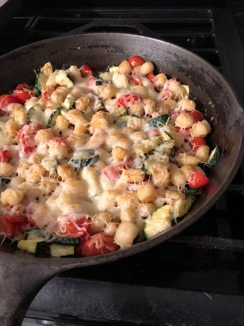 Gnocchi Vegetable Skillet