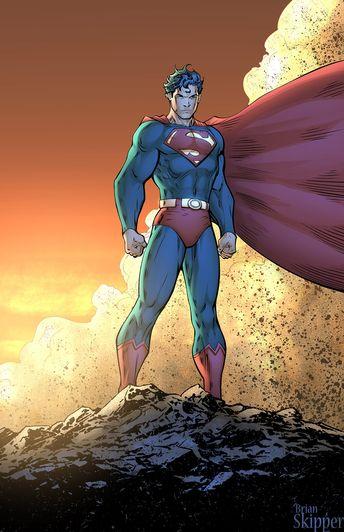 Superman by Brian Skipper on ArtStation