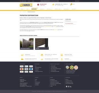 e03321cdc576ee Polyrattan-Sichtschutzzaun online kaufen bei ZAUN24. Schauen Sie doch mal  rein! - ZAUN24