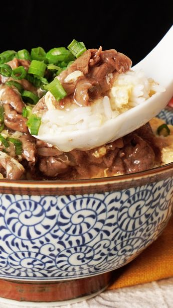 【とろりつゆだく】ふんわり肉玉のあんかけ丼 ~ レシピ