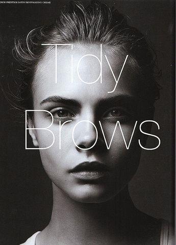 Tweeze-less Tidy Brows
