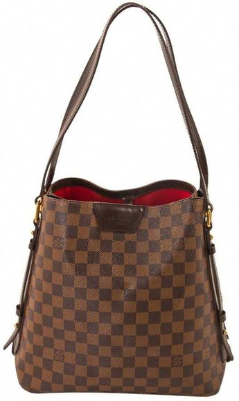 35c8538cc9d5a3  2598 - Louis Vuitton Damier Ebene Graceful MM Tote Handbag