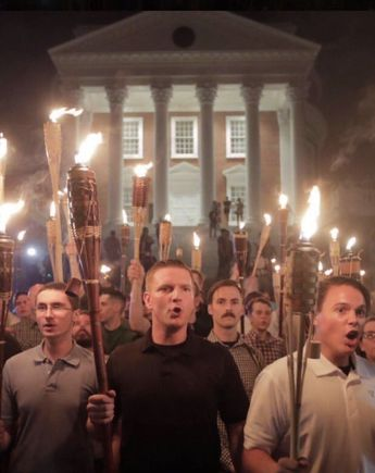 This image from the white supremacist rally has inspired a meme