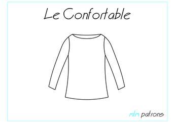 Patron PDF Le Confortable