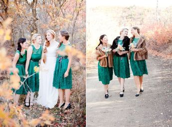 5 of the Prettiest Colours for Autumn Bridesmaids