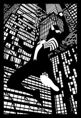 Spiderman Blacksuit