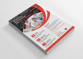 Top Print Flyer Templates 002515 - Template Catalog