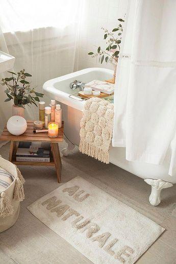 Slide View: 2: Au Naturale Bath Mat #Bathroomdecorideas