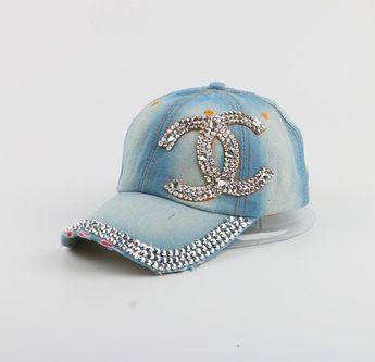 6572fe0a High Quality WOMEN brand baseball cap new fashion rhinestone crystal denim snapback  caps wholesale woman hip
