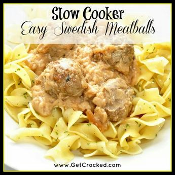 Sweetish Meatballs Crock Pot