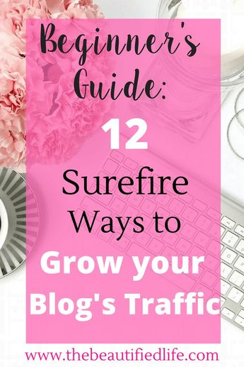 How to Grow Your Blog Traffic: 12 Surefire Ways for Beginners